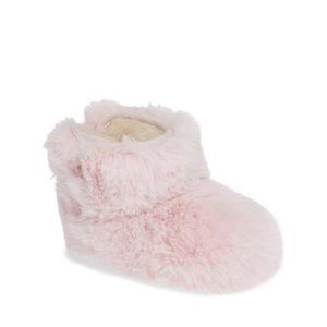 NEW UGG Jesse Bow Fluff Bootie (Baby) 4/5